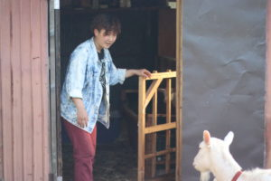 18頭ものヤギを飼う「やぎのいえ」竹川奈緒さんにインタビュー