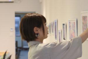 米子出身の画家、安藤真央さんにインタビュー